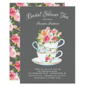 Elegant Bridal Shower Tea Invitation starting at 2.26