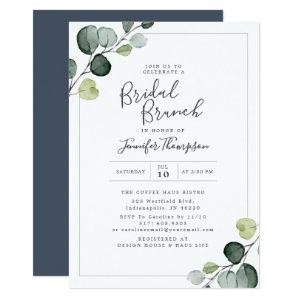 Elegant Eucalyptus Greenery Bridal Shower Invitation starting at 2.66