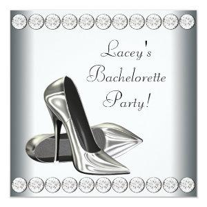 Elegant High Heels Bachelorette Party Invitation starting at 2.51