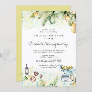 Elegant Lemon Grove Picnic Bridal Shower Invitation starting at 2.40