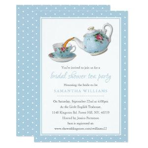 Elegant Teacups Bridal Shower Tea Party Invitation starting at 2.51