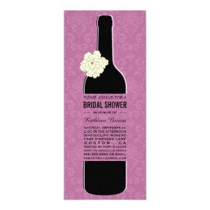 Elegant Wine Bridal Shower Invitations starting at 2.50