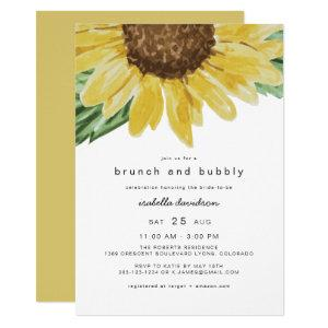 Emma - Rustic Sunflower Bridal Brunch + Bubbly Invitation starting at 2.50