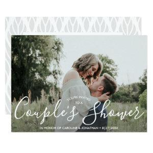 Engaged Couple's Shower Invitation Modern Photo starting at 2.51