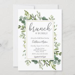 Eucalyptus Brunch and Bubbly Bridal Shower Invitation starting at 2.55