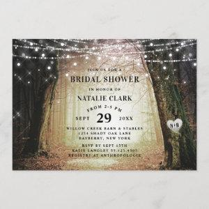 Evermore | Enchanted Forest Amber Bridal Shower Invitation starting at 2.55