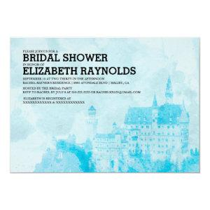 Fairytale Castle Bridal Shower Invitations starting at 2.66