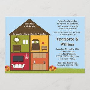 Fall Around the House Shower Bridal Shower Invitation starting at 2.98