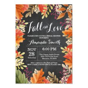 Fall Autumn Bridal Shower Invitation starting at 2.35