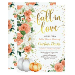 Fall Bridal Shower Invitation Fall In Love Shower starting at 2.56