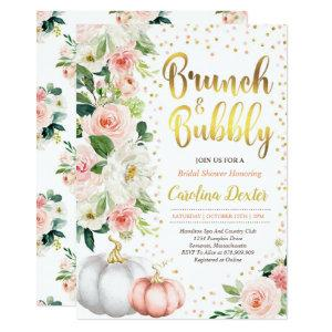 Fall Brunch And Bubbly Bridal Shower Invitation starting at 2.56