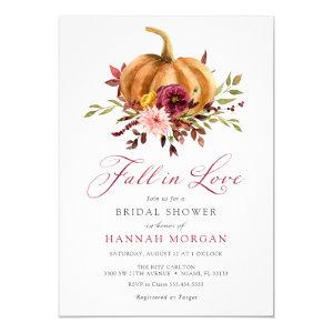 Fall in Love Bridal Shower invitation starting at 2.45