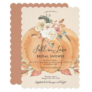 Fall in Love Bridal Shower Invitation starting at 2.40