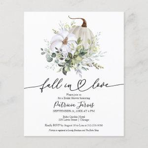 Fall In Love Budget Bridal Shower starting at 0.55