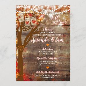 Fall in Love Rustic Bridal Shower starting at 2.70