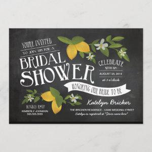 Farm to Table Chalkboard Bridal Shower Invites starting at 2.51