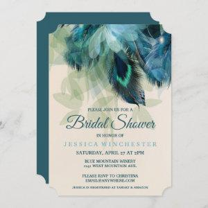 Feather Floral Bridal Shower Invitation starting at 2.81