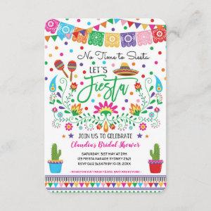 Fiesta Bridal Shower / No Time for Siesta Mexican Invitation starting at 2.41