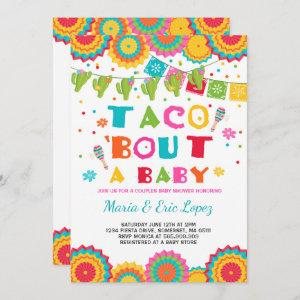 Fiesta Couples Baby Shower Invitation Co-ed Shower starting at 2.56