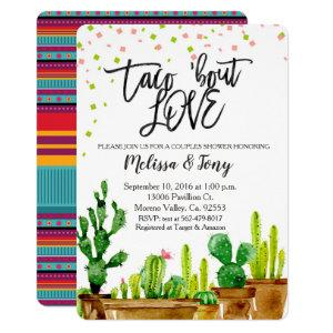 Fiesta Couples Shower Invitation Taco Bout Love starting at 2.75