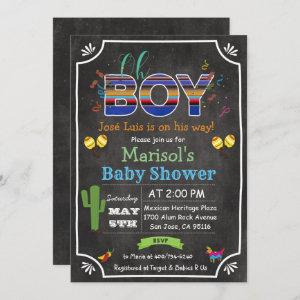 Fiesta Mexican Oh Boy Baby Shower Invitation starting at 2.61