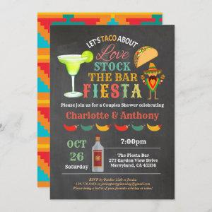 Fiesta stock the bar couples shower chalkboard starting at 2.25