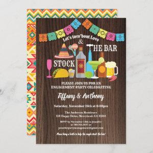 Fiesta stock the bar invitation couples shower starting at 2.25