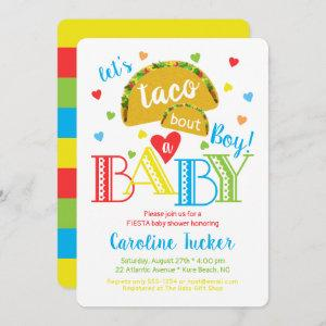 Fiesta Taco Bout a Baby Boy Shower Invitation starting at 2.86