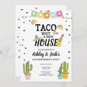 Fiesta Taco Bout A New House Housewarming Party Invitation starting at 2.66