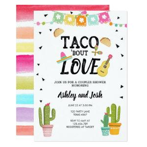 Fiesta Taco Bout Love Cactus Couples Shower Invitation starting at 2.66