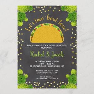 Fiesta Taco Bout Love Couples Wedding Shower Invitation starting at 2.66