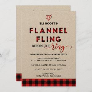 Flannel Fling Bachelorette  + Itinerary starting at 3.10