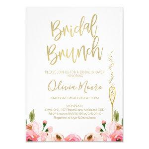 Floral Bridal Brunch Bridal Shower Invitation starting at 2.10