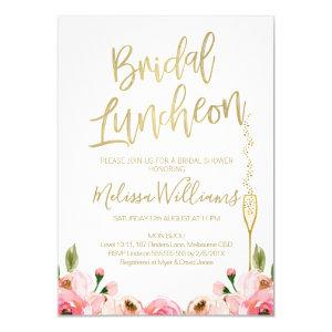 Floral Bridal Luncheon Invitation starting at 2.10