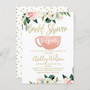 Floral Bridal Shower Tea Party starting at 2.10