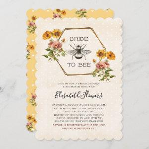 Floral Bride To Bee Bridal Shower starting at 2.91
