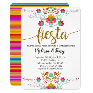 Floral Fiesta Couples Shower Invitation starting at 2.75