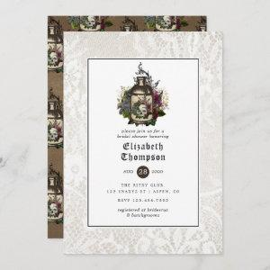 Floral Potion Bottle and Lace Gothic Bridal Shower starting at 2.51