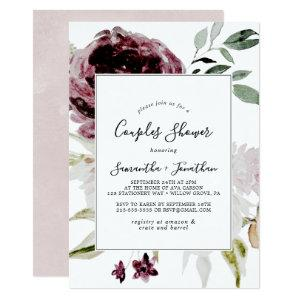 Floral Romance Couples Shower Invitation starting at 2.51