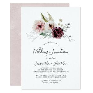 Floral Romance Wedding Luncheon Invitation starting at 2.26