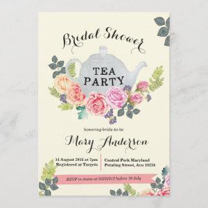 Floral Tea Party Bridal Shower starting at 2.66