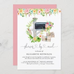 Floral Virtual Bridal Shower by Mail Invitation starting at 2.40