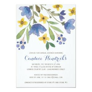 Floral Watercolor | Bridal Shower Invitation starting at 2.61