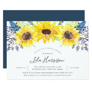 Flowerfields Bridal Shower Invitation starting at 2.26