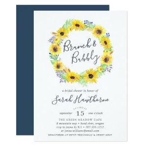 Flowerfields Wreath | Brunch & Bubbly Invitation starting at 2.51
