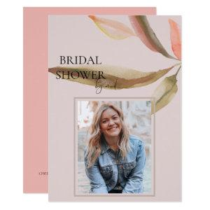 Foliage Photo Bridal Shower by Mail Soft Toned Invitation starting at 2.55