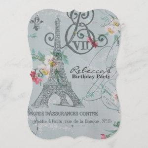french country eiffel tower paris birthday party starting at 3.02