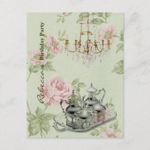 french country garden birthday tea party starting at 2.42
