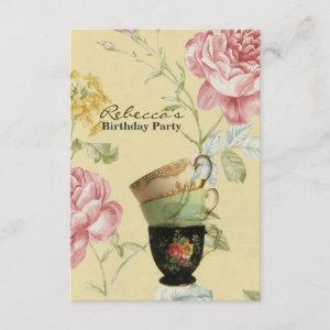 french country garden birthday tea party starting at 2.32