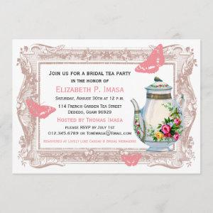 French Garden Bridal Tea Party Invitation starting at 2.51